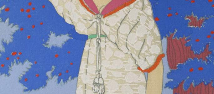 Paul Poiret fashion illustration