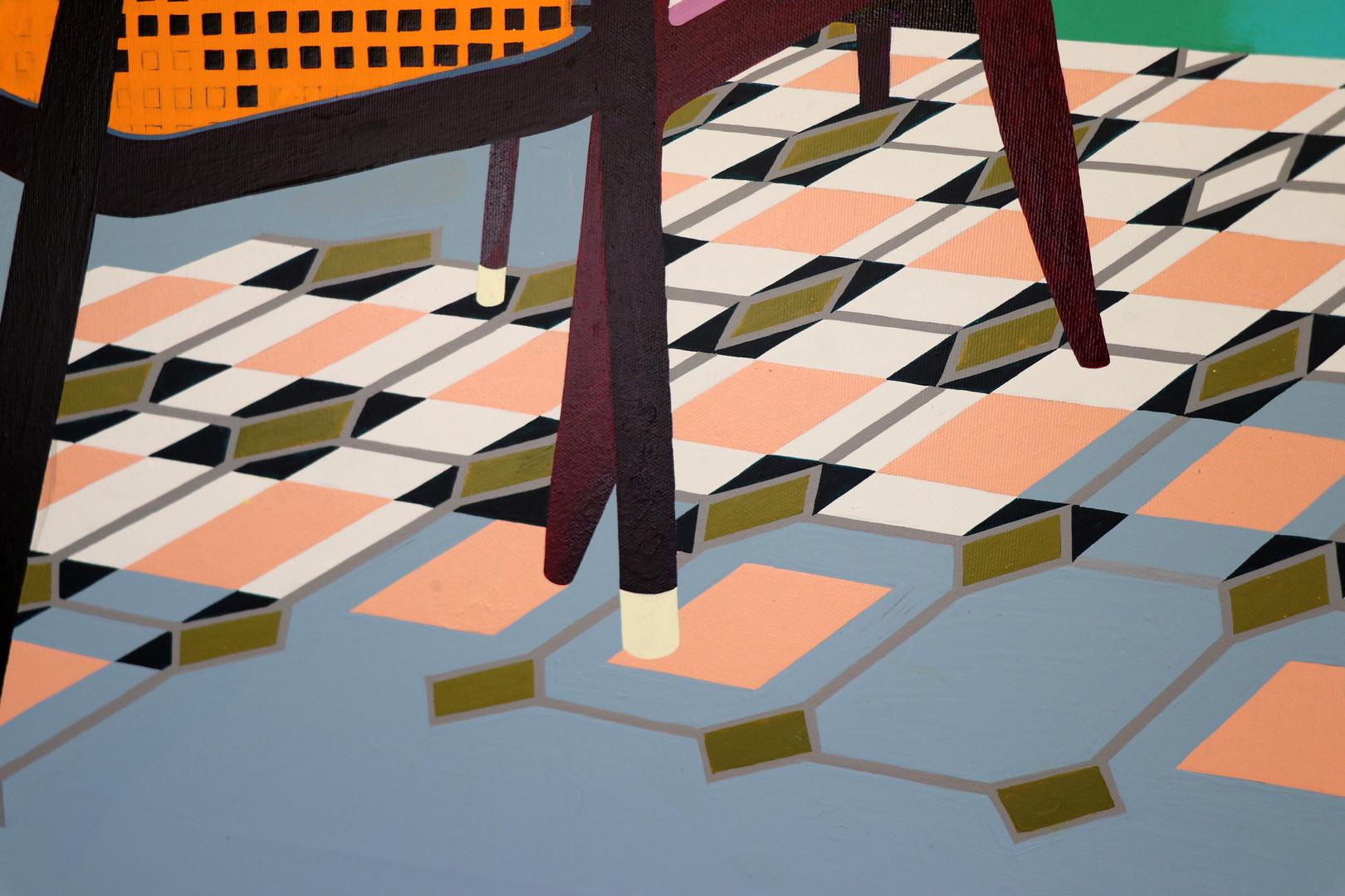 Floor pattern detail