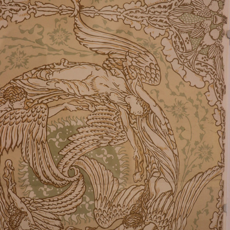 Walter Crane wallpaper