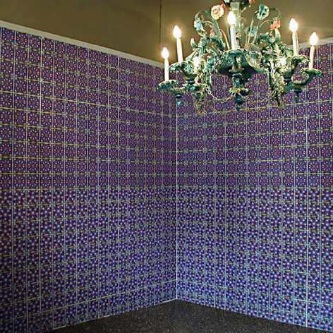 Zineb sedira wallpaper installation