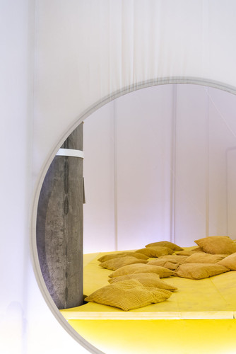 SO-IL, Home Futures exhibition bed, 2018