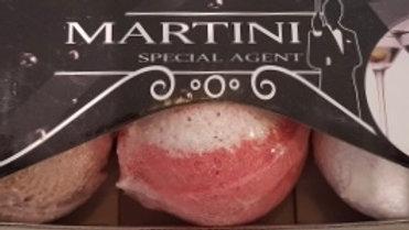 3 bomba's de baño especial Martini