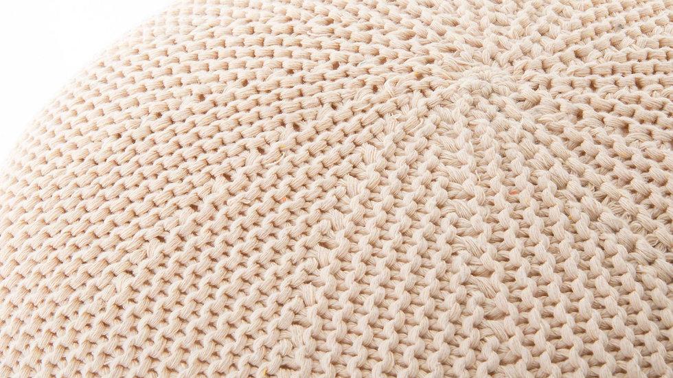 Cojin de suelo beige .40 x28