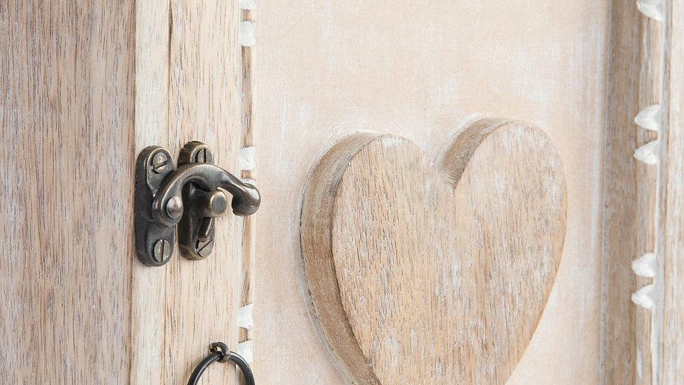 Guardallaves madera 25 x9 x39