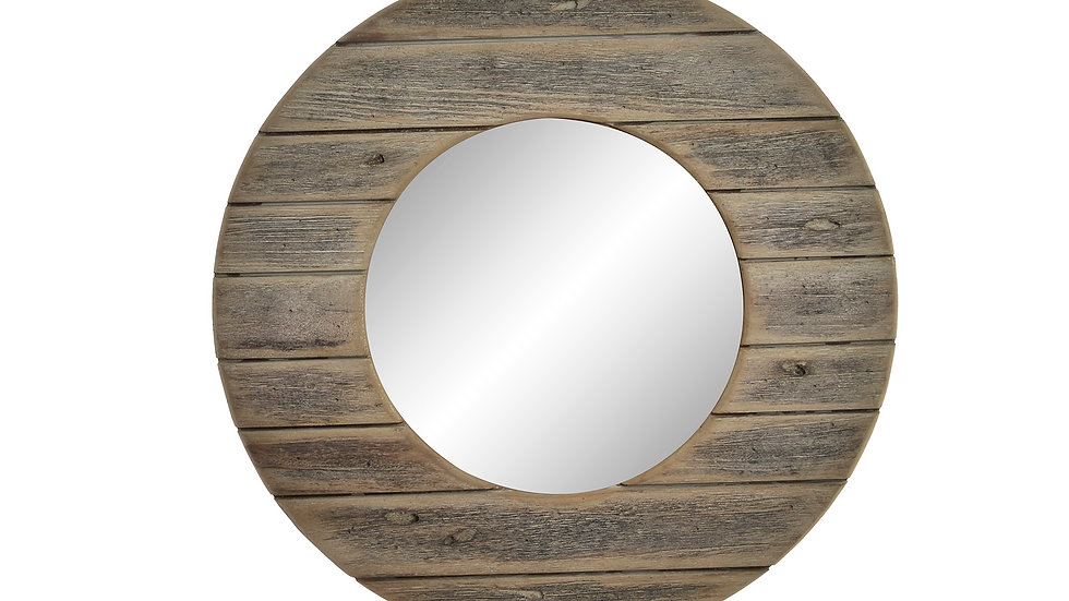Espejo madera envejecido