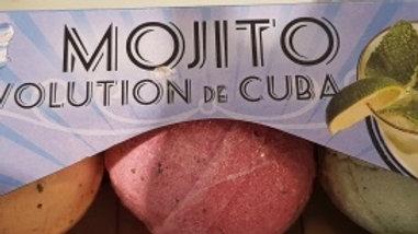 Party pack 3 bomba's de baño Mojito