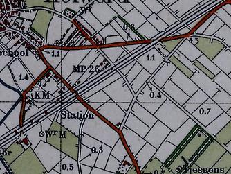 'Vroeger en nu in de GIS / Cartografie'