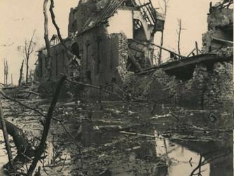 Oorlogshandelingen en het landschap