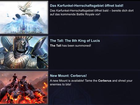 Der Große - König von Lucis und Zerberus-Reittier