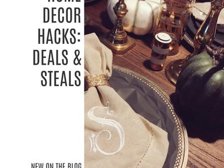 Home Decor Hacks: Deals & Steals