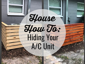 House How To: Hiding Your Ugly A/C Unit