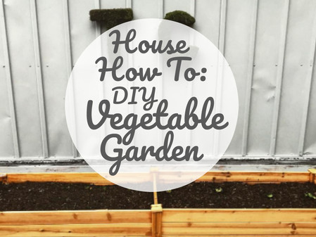 House How To: DIY Veggie Garden