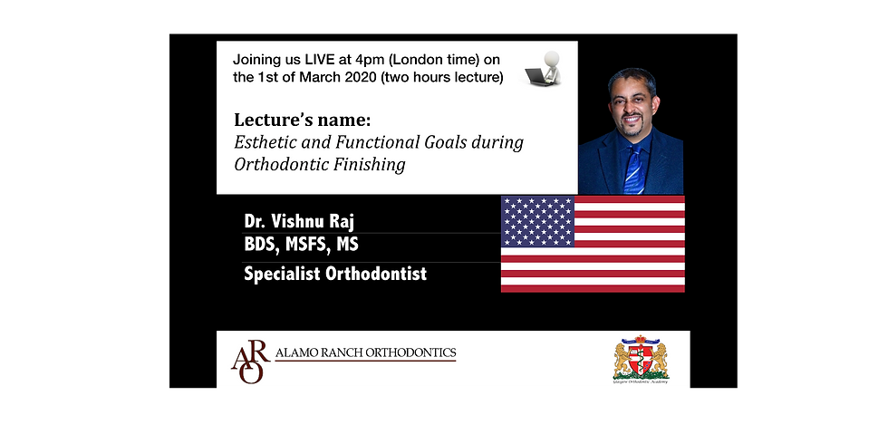 Esthetic and Functional Goals during Orthodontic Finishing (Recorded)