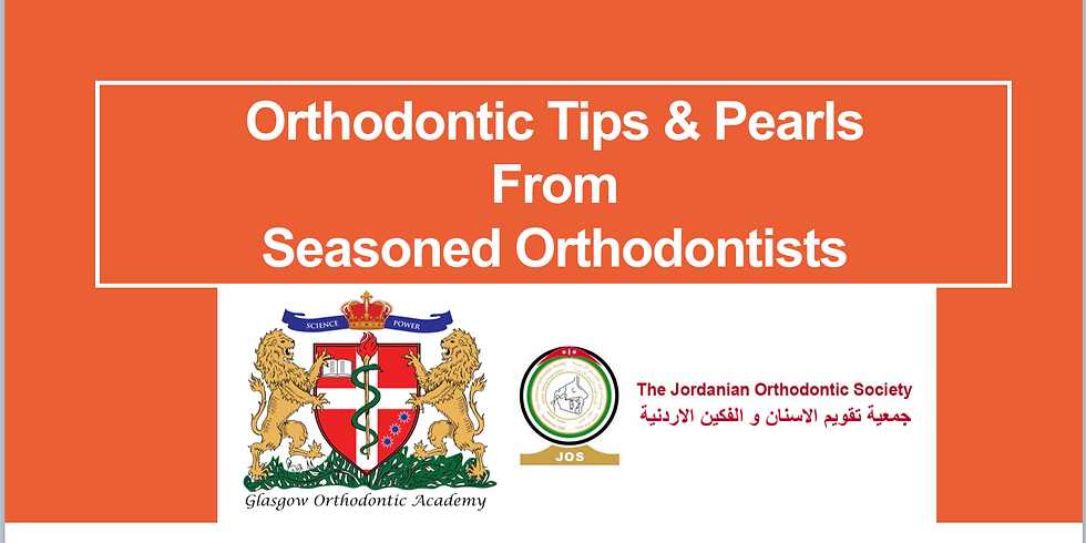 Orthodontic Tips and Pearls: From Seasoned Orthodontists (Two-day course)