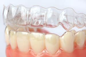 masticatory-induced cold work of aligners