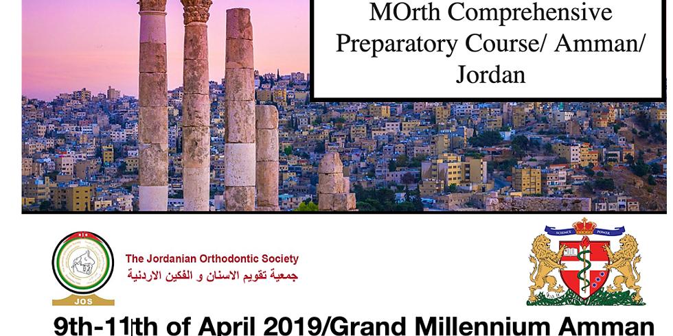 MOrth Comprehensive Preparatory Course/ Amman/ Jordan
