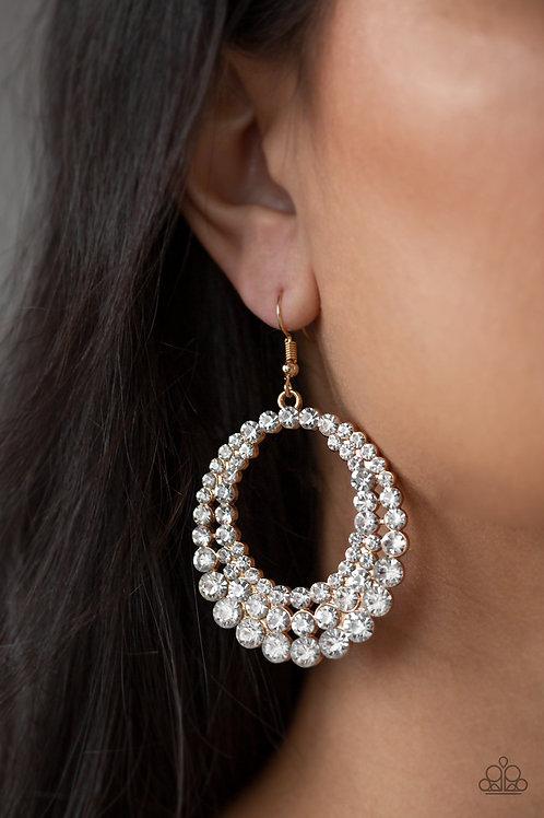 Universal Shimmer Gold Earring