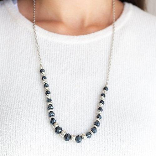 Stratosphere Sparkle Blue Necklace
