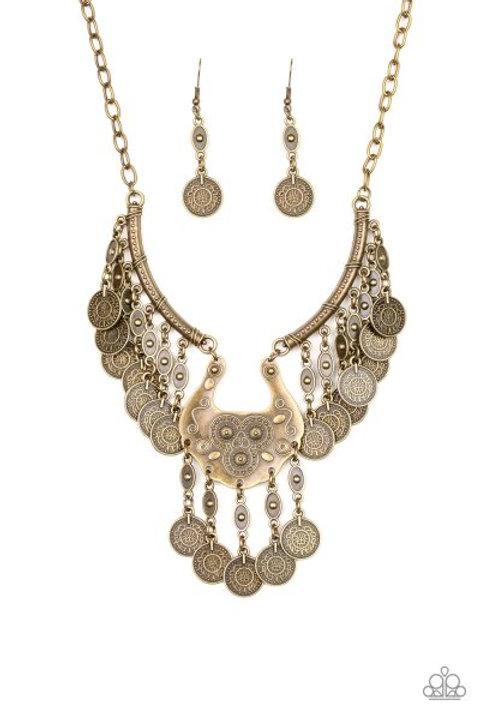 Treasure Temptress - Brass