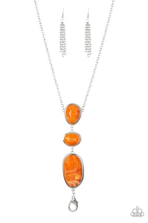 Making an Impact - Orange Lanyard
