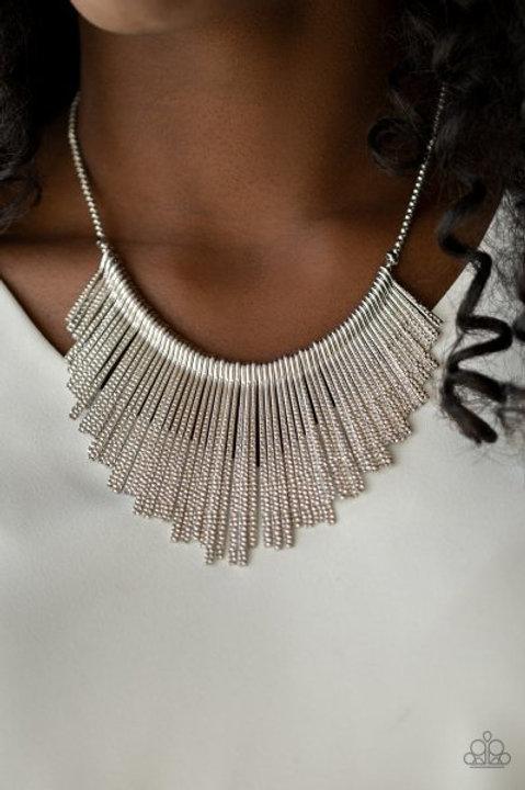 Metallic Mane - Silver