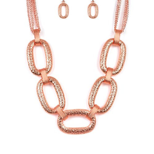 Take Charge - Copper Necklace