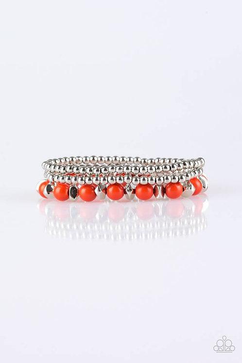 Epic Escape - Orange Bracelets