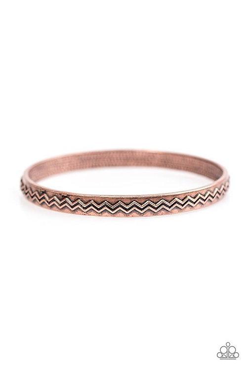 Rogue Waves - Copper Bracelet