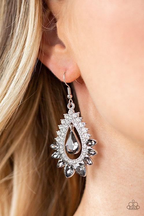 Boss Brilliance - Silver Earring