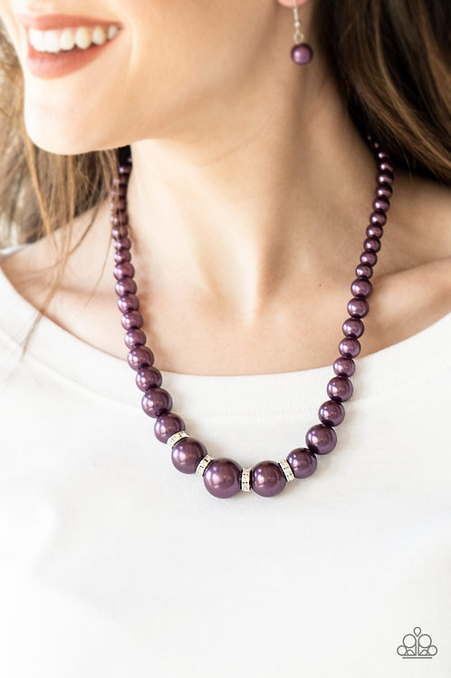 Party Pearls Purple