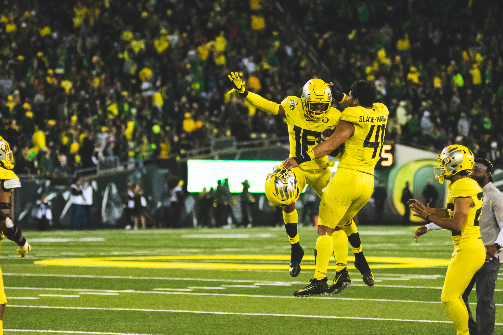 University of Oregon vs. Colorado