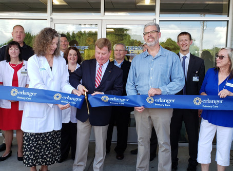 Clay County – Erlanger Western Carolina Hospital – Ribbon Cutting Ceremony – Hayesville Primary Care