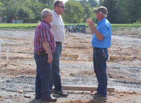 Review Progress of Hayesville Primary School Construction Site