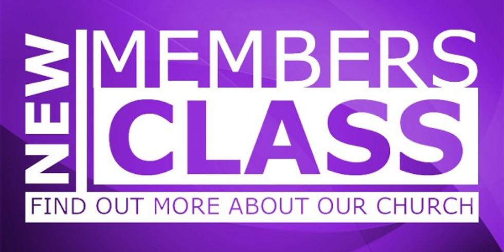 New Members Class (1)