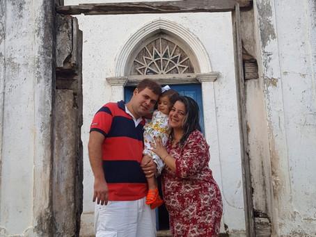 Casal pessoense encanta-se com a cidade de Araruna-PB.