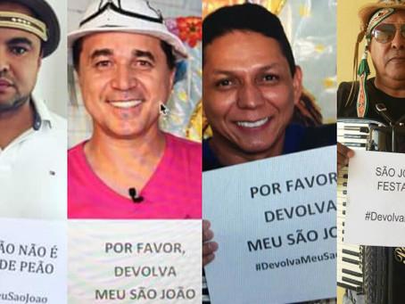Sanfoneiros ampliam campanha Devolva Meu São João por mais espaço ao pé-de-serra