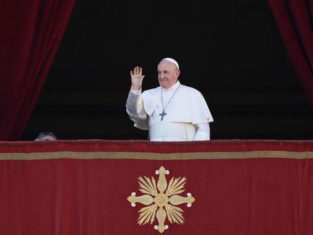 Papa pede esperança para a América Latina