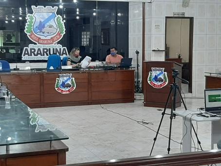 Comissão do Covid-19 da Câmara de Vereadores de Araruna-PB se reuniu nesta terça-feira(30). Confira!
