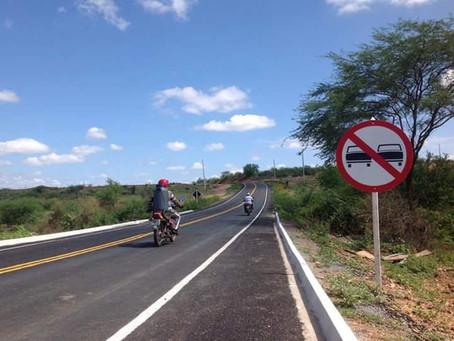 Mais uma nova rodovia da Paraíba. Será inaugurada em Julho. PB-151 - Picuí até a Divisa PB/RN