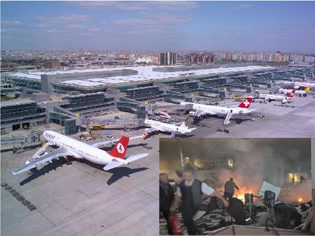 Explosões atingem maior aeroporto de Istambul
