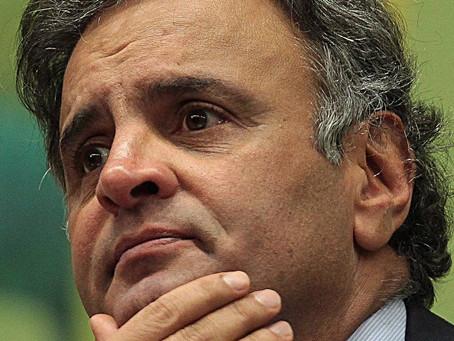 PF faz buscas em imóveis do senador Aécio Neves
