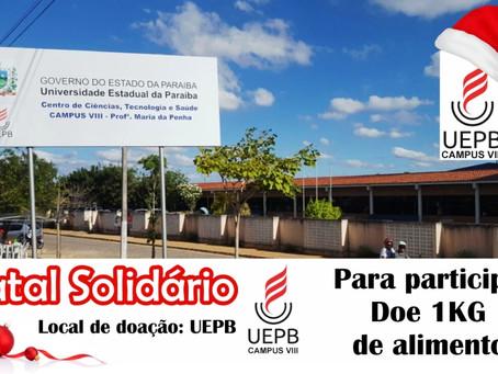 Campus VIII da UEPB realiza Natal Solidário em benefício a comunidade carente de Araruna