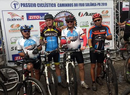 Equipe Alto Giro de Araruna-PB participa do 1º Pedal Caminhos do Frio em Solânea-PB