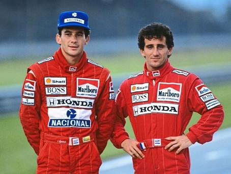 Senna e Prost: a rivalidade movida pela paixão