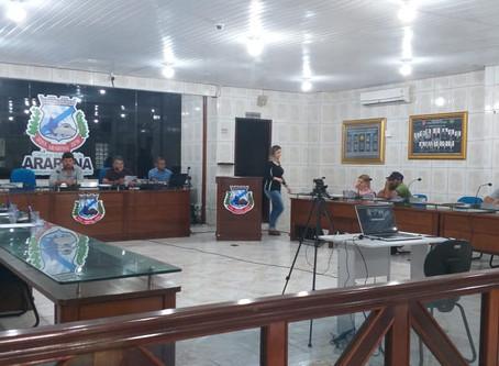 Resumo da última sessão ordinária do ano na Câmara Municipal de Araruna/PB