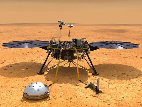 Sonda da Nasa pousa em Marte para missão sísmica inédita
