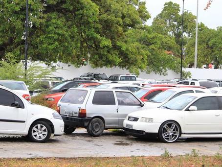 Detran-PB leiloa 500 veículos nesta quarta-feira