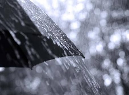 Inmet alerta para perigo de acumulado de chuvas em João Pessoa e mais 50 cidades da PB