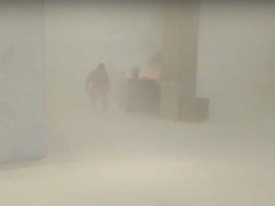 Incêndio no Mangabeira Shopping e espalha fumaça pelos andares