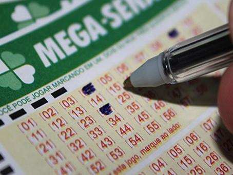 Mega-Sena acumula pela sexta vez e prêmio pode chegar a R$ 50 mi no sábado
